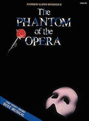 Le fantôme de l'opéra Andrew Lloyd Webber Partition laflutedepan