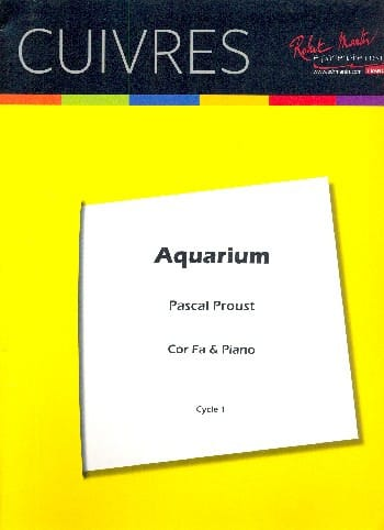 Aquarium - Pascal Proust - Partition - Cor - laflutedepan.com