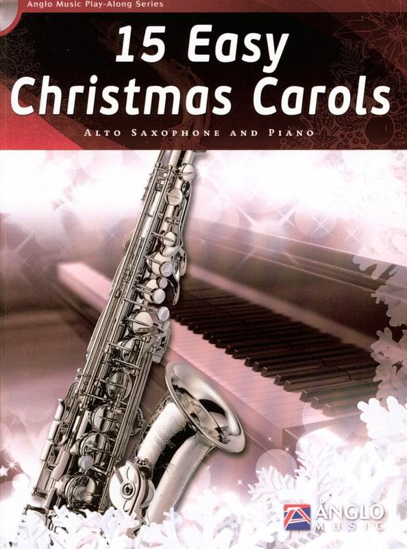 15 Easy Christmas Carols - Noël - Partition - laflutedepan.com