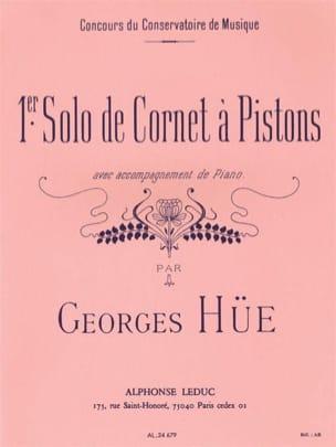 1er Solo de Cornet A Piston Georges Hüe Partition laflutedepan