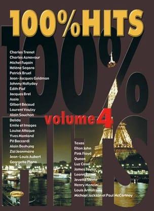 100% hits volume 4 Partition Chanson française - laflutedepan
