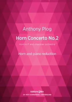 Horn Concerto No. 2 - Anthony Plog - Partition - laflutedepan.com