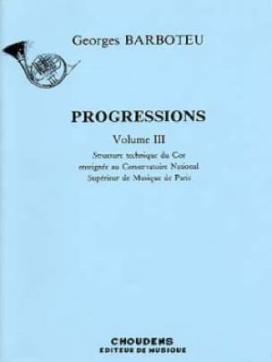 Progressions Volume 3 - Georges Barboteu - laflutedepan.com