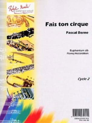 Fais Ton Cirque - Pascal Berne - Partition - Tuba - laflutedepan.com