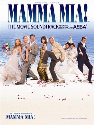Mamma Mia ABBA Partition Musique de film - laflutedepan