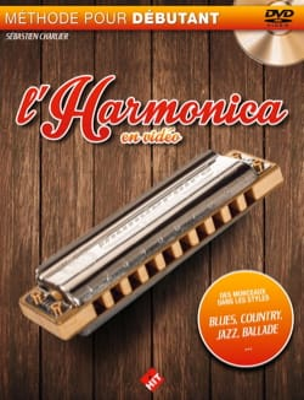 L'harmonica en vidéo Sébastien Charlier Partition laflutedepan