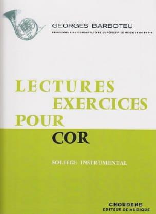 Lectures Exercices Pour Cor - Georges Barboteu - laflutedepan.com