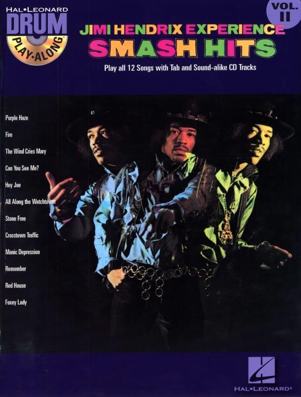 Drum play-along volume 11 - Jimi Hendrix Experience Smash Hits - laflutedepan.com