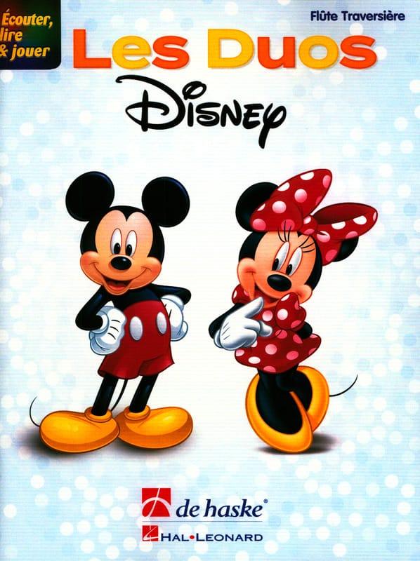 Écouter, lire & jouer - Les Duos Disney - DE HASKE - laflutedepan.com