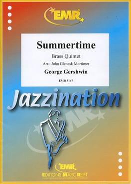 Summertime GERSHWIN Partition Ensemble de cuivres - laflutedepan