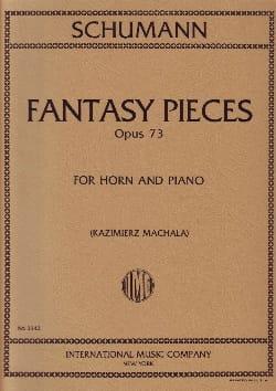 Fantasy Pieces Opus 73 SCHUMANN Partition Cor - laflutedepan