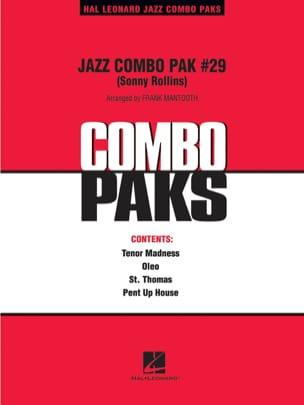 Jazz Combo Pak # 29 Sonny Rollins Partition ENSEMBLES - laflutedepan