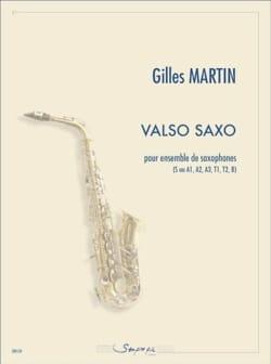 Valso Saxo Gilles Martin Partition Saxophone - laflutedepan