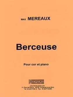 Berceuse Max Méreaux Partition Cor - laflutedepan