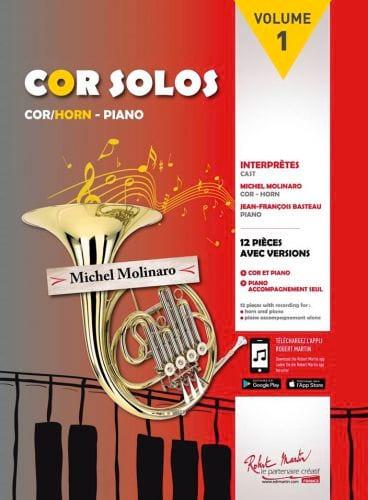 Cor solos volume 1 - Partition - Cor - laflutedepan.com