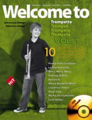 Welcome To Trompette Volume 1 - Jean-Louis Delage - laflutedepan.com