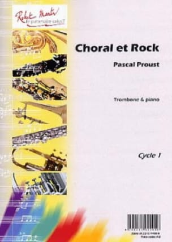 Choral et rock - Pascal Proust - Partition - laflutedepan.com