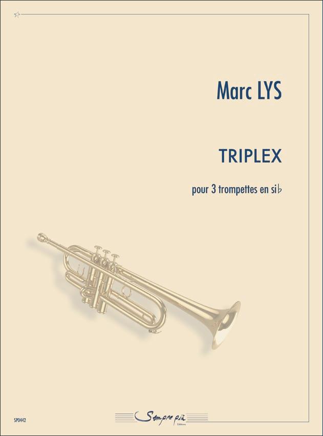 Triplex - Marc Lys - Partition - Trompette - laflutedepan.com