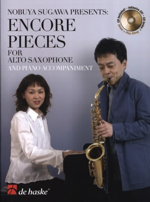 Encore Pieces Partition Saxophone - laflutedepan