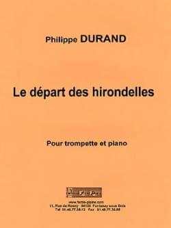 Le Départ Des Hirondelles Philippe Durand Partition laflutedepan