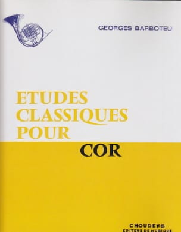 Etudes Classiques - Georges Barboteu - Partition - laflutedepan.com
