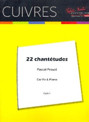 22 Chantétudes Traditionnel (Pascal Proust) Partition laflutedepan