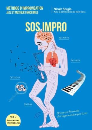 SOS Impro - Nicola Sergio - Livre - Harmonie - laflutedepan.com