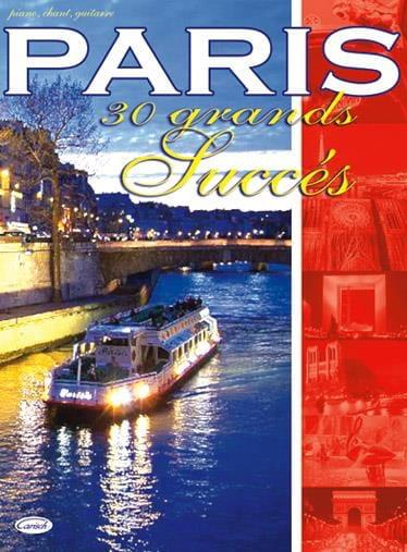 Paris - 30 Grands Succès - Partition - laflutedepan.com