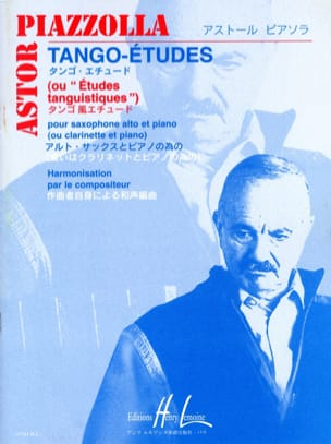 Tango études Astor Piazzolla Partition Saxophone - laflutedepan