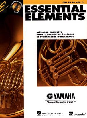 Essential Elements. Cor En Fa Volume 1 Partition laflutedepan