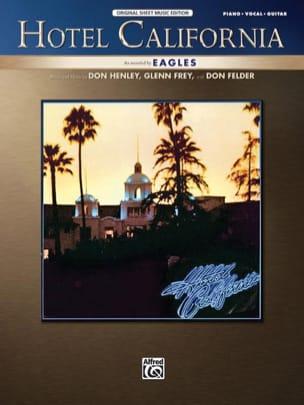 Hotel California Eagles Partition Pop / Rock - laflutedepan