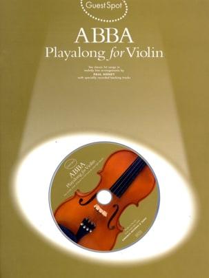 Guest Spot - Abba Playalong For Violin ABBA Partition laflutedepan