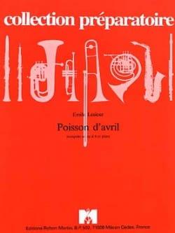 Poisson D' Avril Emile Lesieur Partition Trompette - laflutedepan