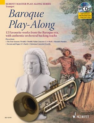 Baroque Play-Along - Partition - Trompette - laflutedepan.com