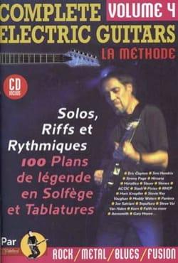 Jean-Jacques Rébillard - Complete Guitarras Eléctricas Volumen 4 - Partition - di-arezzo.es