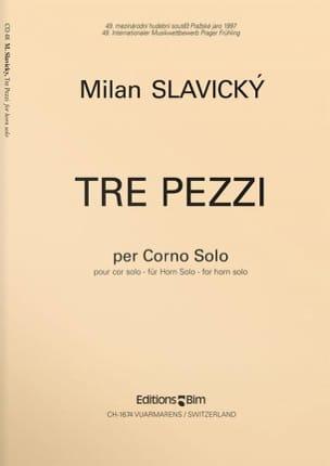 Tre Pezzi Milan Slavicky Partition Cor - laflutedepan