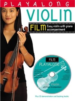 Playalong Violin Film Partition Violon - laflutedepan