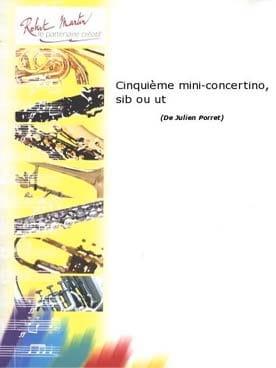 5me Mini-Concertino Julien Porret Partition Trompette - laflutedepan