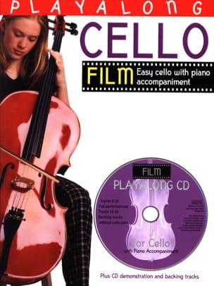 Playalong Cello Film Partition Violoncelle - laflutedepan
