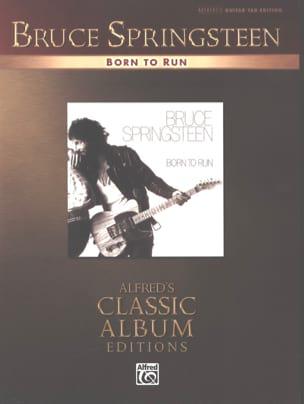 Born To Run Bruce Springsteen Partition Pop / Rock - laflutedepan