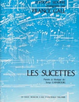 Les Sucettes - Serge Gainsbourg - Partition - laflutedepan.com