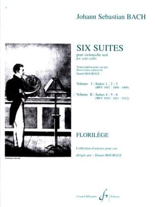 Six Suites Cello Volume 2 BACH Partition Cor - laflutedepan