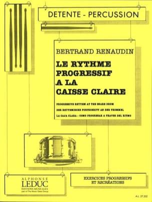 Le Rythme Progressif A la Caisse Claire Bertrand Renaudin laflutedepan