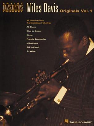 Originals Volume 1 Miles Davis Partition Trompette - laflutedepan
