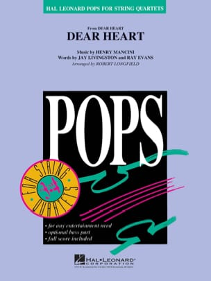 Dear Heart - Pops For String Quartets MANCINI Partition laflutedepan