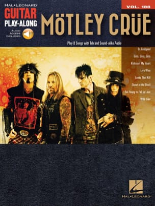 Guitar Play-Along 188 - Mötley Crüe Mötley Crüe Partition laflutedepan