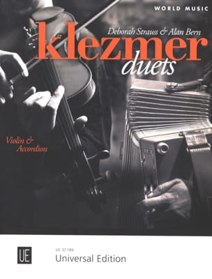 Klezmer Duets Dawid Christian & Alan Bern Partition laflutedepan