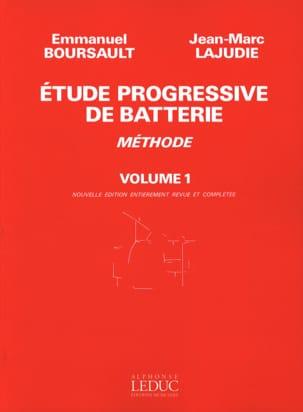Etude Progressive de Batterie - Méthode Volume 1 laflutedepan