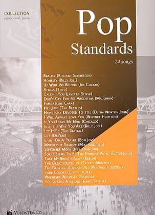 Pop standards Partition Pop / Rock - laflutedepan