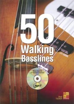 50 Walking Basslines Brad Tucker Partition Contrebasse - laflutedepan